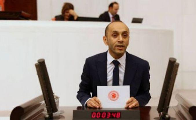 HDP'li Sait Dede Hakkari ve İlçelerinin Sorunlarını Meclis'e Taşıdı