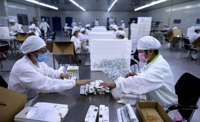 Çin'de aşı yapılan kişi sayısı 1 milyarı geçti