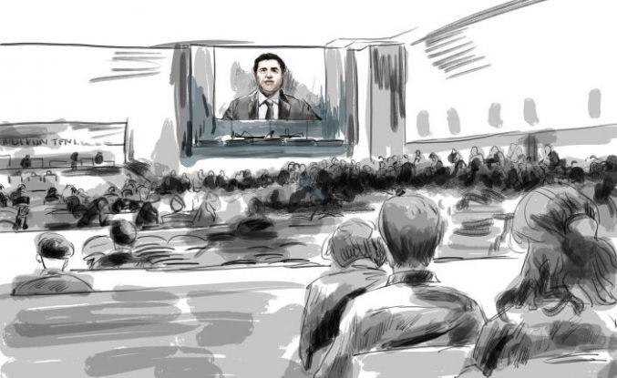Kobanê davası 23 Eylül'e ertelendi: Mahkeme başkanı temaslı çıktı