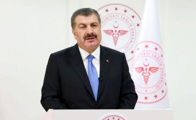 Bakan Fahrettin Koca açıkladı: Vaka sayısının en yüksek olduğu 10 il