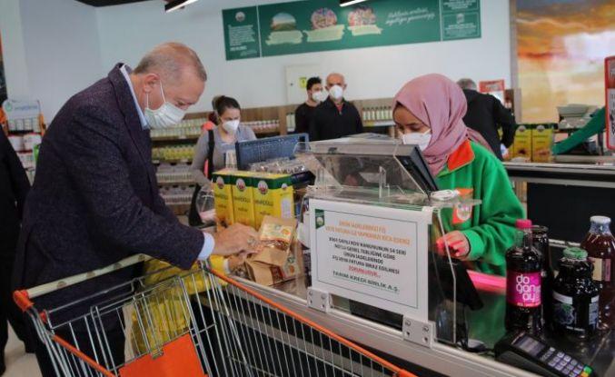 Erdoğan: Bin tane Tarım Kredi Kooperatifi marketi açılacak