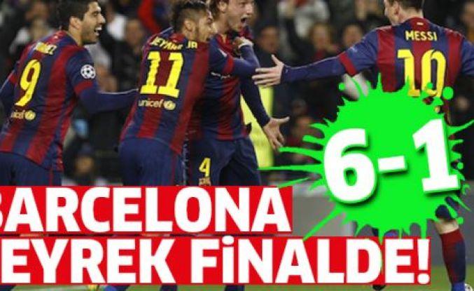 Barcelona 'imkansız' denileni başardı: 6-1