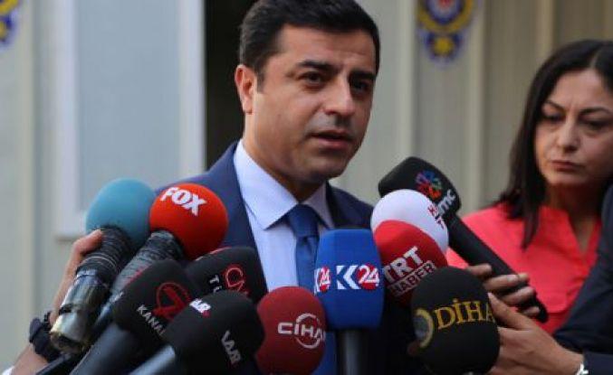 Selahattin Demirtaş: HDP ile aramda en küçük ideolojik sorun yoktur