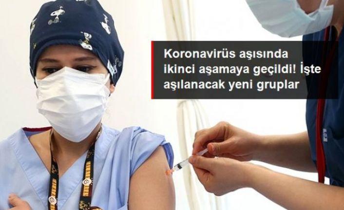 Koronavirüs aşısında ikinci aşamaya geçildi