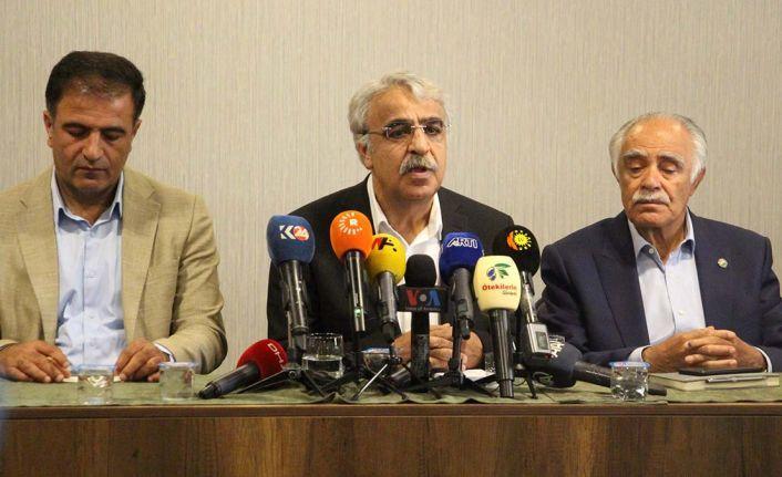 Mithat Sancar Diyarbakır'da konuştu: Bizim zaten ittifakımız var